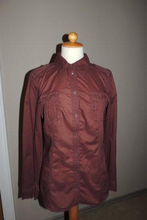 Hemd-Bluse mit Knopfleiste