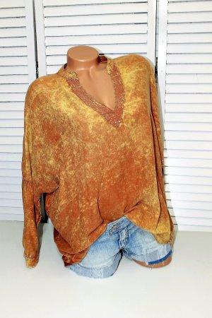 Hemd Bluse mit Pailleten gr 38 40 42