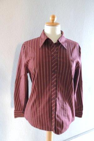 Hemd-Bluse mit Streifen