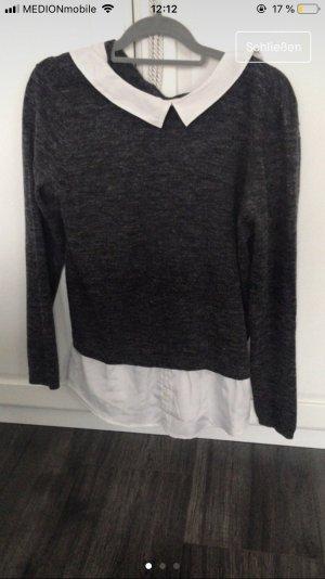 Esmara Shirt Blouse grey-white