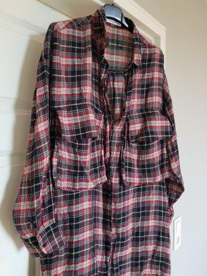 Hemd Bluse Oversize von Mango Gr. M kariert