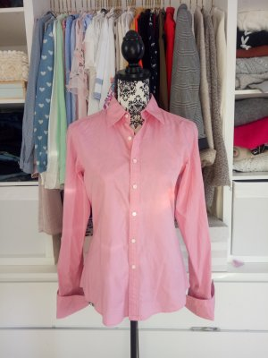 Hemd Bluse Rosa 10 38 Ralph Lauren Business Slim Fit Pink