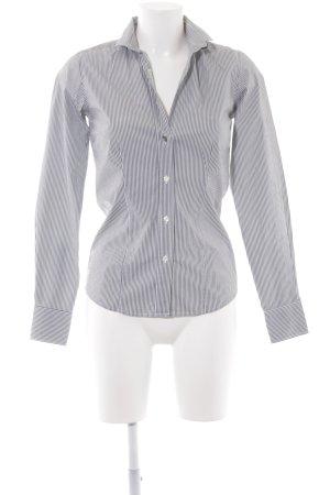 Hemd-Bluse Streifenmuster Casual-Look