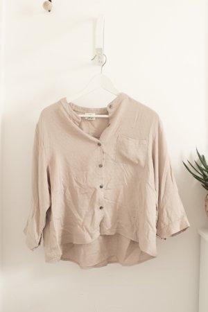 Hemd / Bluse von ASOS Gr. L/38 beige NP 65€