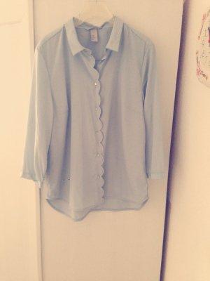 Hemd / Bluse von H&M in babyblau Farbe