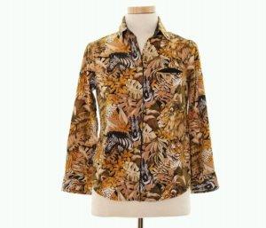 hemd bluse von maje gr. 36 buntes muster