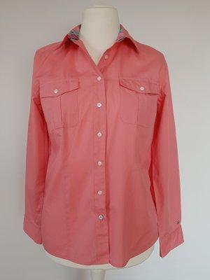 Tommy Hilfiger Camicia blusa salmone-rosso chiaro