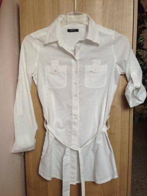 Hemd-Bluse Weiß Größe S/Amisu