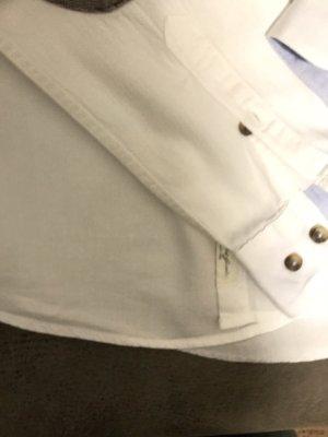 H&M Camisa de manga larga blanco