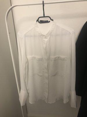 Mango Camicia a maniche lunghe bianco