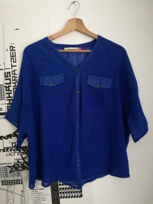 Flanellen hemd blauw Synthetisch