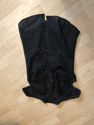 Camicia a maniche corte nero