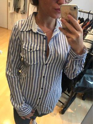 Atmosphere Long Sleeve Shirt white-azure