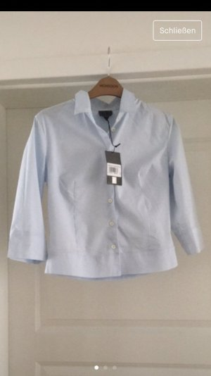 Calvin Klein Camicia a maniche corte azzurro Cotone