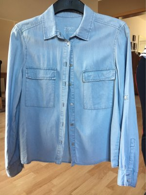 Zara Denim Shirt azure