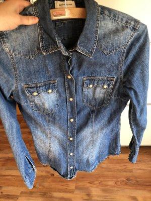 H&M Denim Shirt cornflower blue