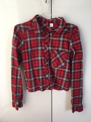 H&M Houthakkershemd rood