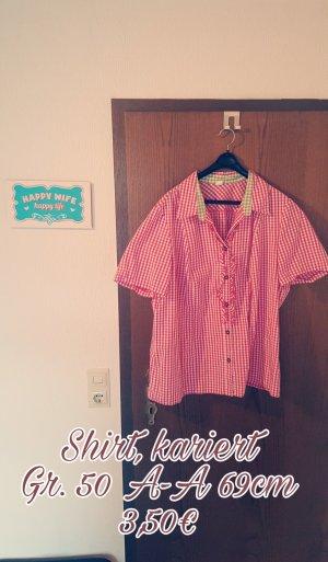 Shirt met korte mouwen veelkleurig Katoen