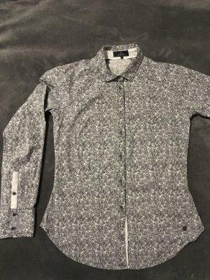 Hemd, grau gemustert von Campus