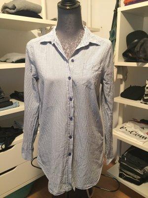 Hemd Größe S hellblau/weiß