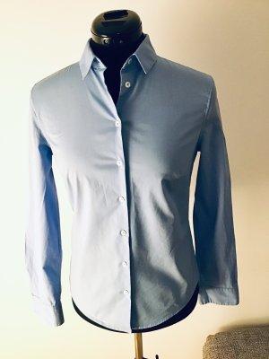 Mango Basics Camicia a maniche lunghe azzurro