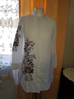 Hemd Hemdbluse Bluse Gr. 42 (XL) Only Blumenprint