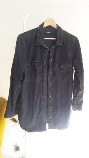 Hemd in Jeansstoff von Monki