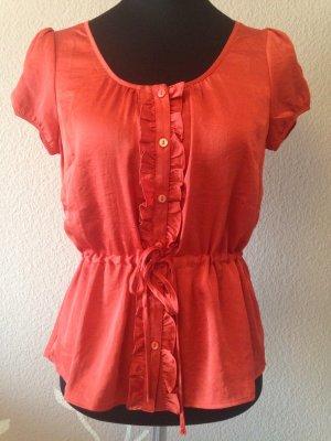 Hemd in rot/orange .