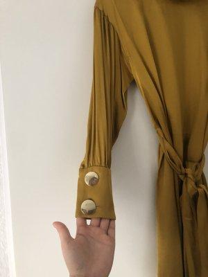 Zara Blouse portefeuille bronze-doré