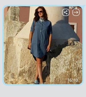Hemd Kleid, Jeans Kleid