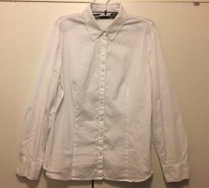 Gerry Weber Camisa de manga larga blanco Algodón