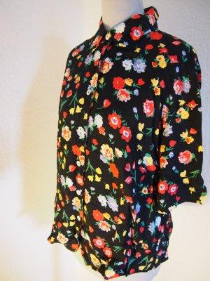 Hemd mit Blumenmusterung in Größe 40