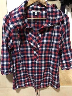 Chemise à manches courtes rouge