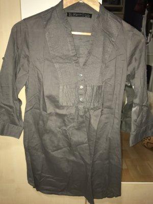 Zara Zakelijk overhemd grijs