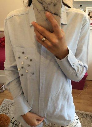 Hemd mit Perle