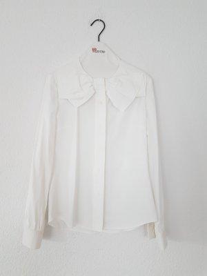 Hemd mit schleifen-Kragen It40 D34/36