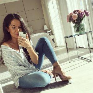 Zara Camicia blusa multicolore