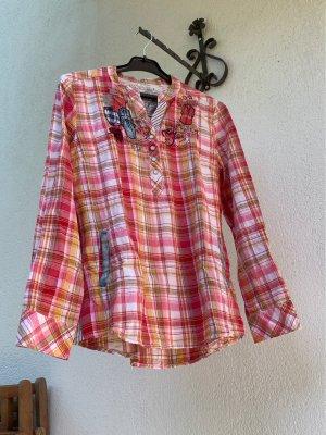 Desigual Camicia a maniche lunghe multicolore