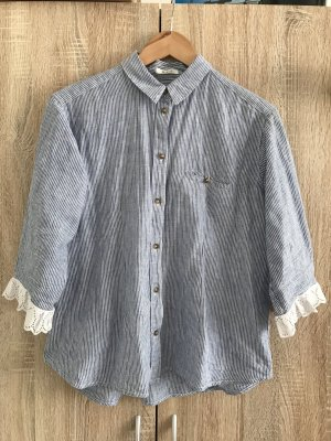 Formal Shirt white-baby blue