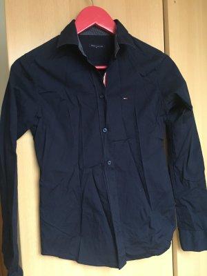 Tommy Hilfiger Formal Shirt dark blue cotton