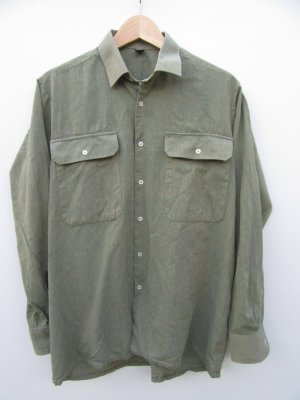 Hemd Vintage Retro grün Gr. S/M oversize