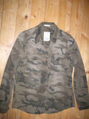 Hemd von EDC Coumoflage Look Größe 36 NEU