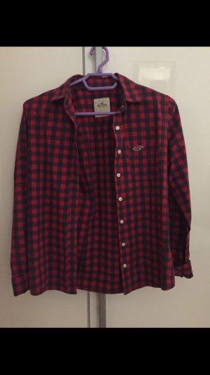 Hemd von Hollister rot-blau