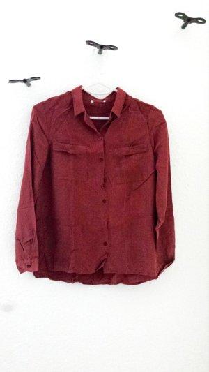 Promod Camisa de manga larga coñac-bermejo