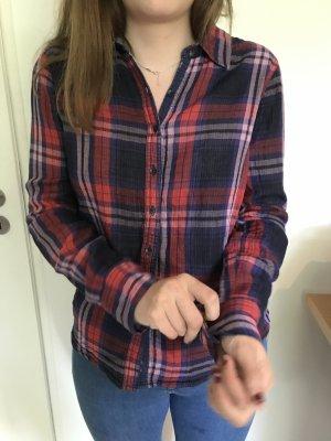 Hilfiger Denim Camisa de leñador multicolor Algodón