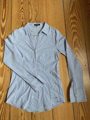 More & More Long Sleeve Shirt white-light blue