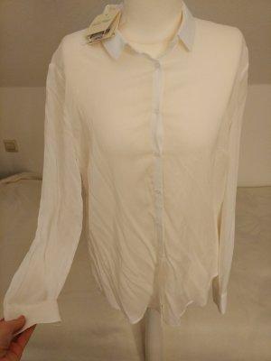 Hemdbluse für Damen in weiß von American Vintage Gr. S NEU mit Etikett!