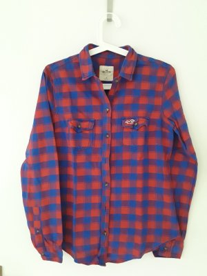 Hollister Hemdblouse rood-blauw