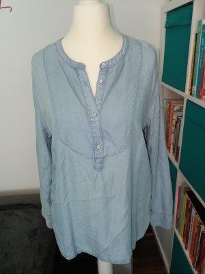 Hemdbluse im Jeanslook der Marke Logg by H&M in der Gr 46