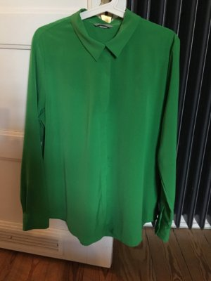 Hemdbluse in grün